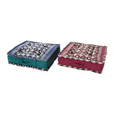 IKEA - JASSA, Floor cushion, You can turn the floor cushion so that it wears evenly and last longer, as it's reversible and has the same fabric on both sides.