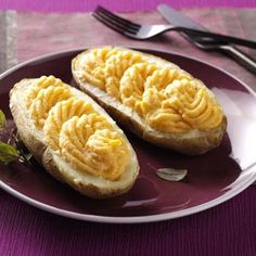 Creamy Butternut Squash Twice-Baked Potatoes Recipe