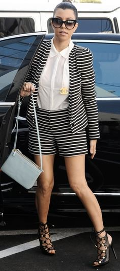 Kourtney Kardashian in Tom Ford Heels
