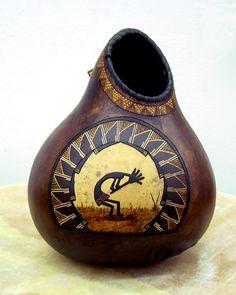 Gourd art by John Gibson