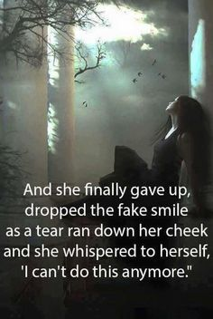 And she finally gave up... and did exactly what I would do if I wouldn't hurt everyone