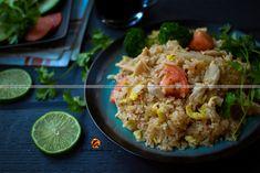 Thai Chicken Fried Rice, Khao Phat Kai – Restaurant style