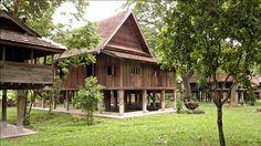 Musée des maisons traditionnelles thaïlandaises à Chiang Mai #Thaïlande #voyage #Asie #tourisme #ChiangMai #architecture #constructionBois
