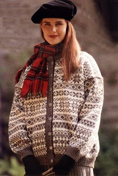 Torridalstrøya? Often the Fair Isle patterns can be similar to that of the Nordic knit patterning.
