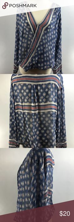 Free People Before Dawn Surplise top free people before dawn top  very good used condition but MISSING HOOK, PLEASE see pictures. Free People Tops Blouses