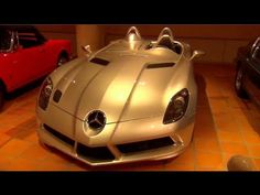 Prince of Monaco's Amazing Car Collection - SLR Stirling Moss, Countach,...