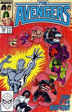 The Avengers #290 - The World According to the Adaptoid! (Issue)