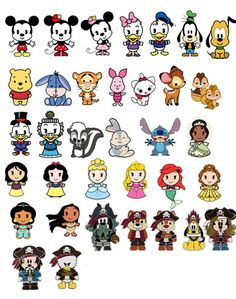 Disney characters are cool