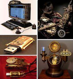 Beautiful technology from Mech Mods site:  http://weburbanist.com/2009/11/04/mods-26-sexy-steampunk-hi-tech-hacks/