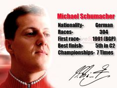 The Formula One legend Michael Schumacher is retiring at the end of the 2012 season. Drivespark takes a look at Micheal Schumacher's illustrious F1 career and lays it down for you in black and white.