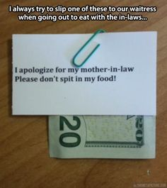 How to deal with your mother-in-law's rudeness…