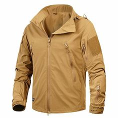 online shopping for Mege Clothing Jacket Coat Military Clothing Outwear Breathable Nylon Light Windbreaker from top store. See new offer for Mege Clothing Jacket Coat Military Clothing Outwear Breathable Nylon Light Windbreaker Nylons, Men's Coats And Jackets, Fall Jackets, Military Fashion, Military Clothing, Fashion Men, Tactical Jacket, Mens Windbreaker, Tactical Clothing
