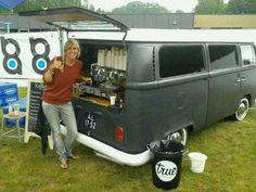 mobile espresso bar in the netherlands