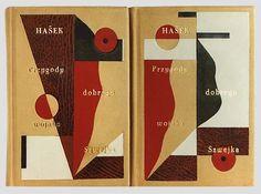 """Hašek """"Przygody dobrego wojaka Szwejka podczas wojny światowej"""" — artystyczna oprawa książki, Wydawnictwo i Introligatornia Artystyczna Kurt..."""