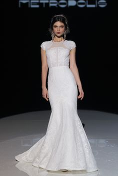 There is no place better than @BCNbridalweek to show jaw-dropping dresses like the ones part of Jesús Peiró's collection! http://www.stylemepretty.com/2017/04/27/jesus-peiro-barcelona-bridal-fashion-week-2017-2/