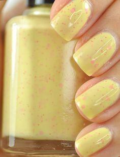 Bliss Yellow Nail Polish 15ml .5oz by TheHungryAsian on Etsy