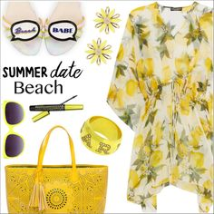 How To Wear Summer date-Beach Outfit Idea 2017 - Fashion Trends Ready To Wear For Plus Size, Curvy Women Over 20, 30, 40, 50