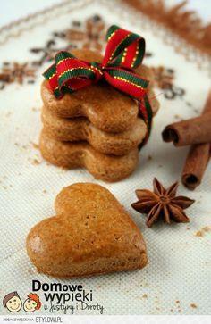 Cookie Desserts, Cupcake Cookies, Cookie Recipes, Dessert Recipes, Christmas Dishes, Christmas Treats, Christmas Baking, Xmas Food, Polish Recipes