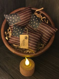 A personal favorite from my Etsy shop https://www.etsy.com/listing/151448197/primitive-american-flag-bowl-fillers