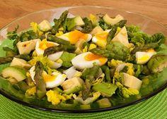 Asparagus, avocado and watercress salad recipe