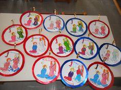 Πάμε Νηπιαγωγείο: Ο Ευαγγελισμός. Spring Activities, Spring Crafts, Decorative Plates, 25 March, Tableware, Blog, School, Home Decor, Dinnerware