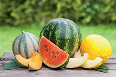Ripeness is what we're all looking for when we cut into a melon, right? No one likes flavorless fruit. Because of their size and weight, melons are more expensive than many other seasonal fruits but … Clean Eating Recipes, Healthy Eating, Healthy Recipes, Healthy Foods, Diet Foods, Fruit Recipes, Plants Have Feelings, Home Remedies, Natural Remedies