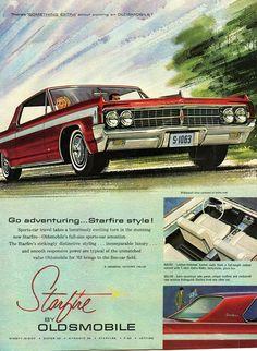 1963 Oldsmobile Starfire Ad