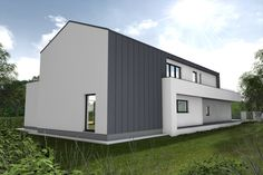 Family house in Poland. Very modern house.