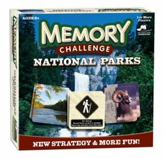 National Parks Memory Challenge enhances the world's most popular matching game creating an adventure to remember for the families who love ...