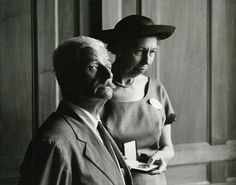 William Faulkner & Eudora Welty, 1962