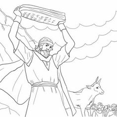 Golden Calf Coloring Page Coloring