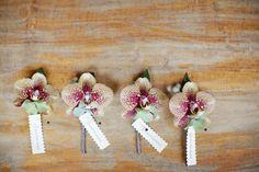 To see more glamorous details about this wedding: http://www.modwedding.com/2014/11/08/beautiful-oregon-wedding-yasmin-khajavi-photography/ #wedding #weddings #boutonniere