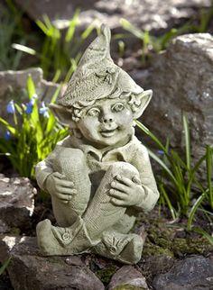 Merveilleux Aiden Cast Stone Pixie Statue Made By Campania International