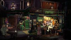 Deponia 2 - in between The Whispered World and Broken Sword style, very lovely, must take a league of animators and artists