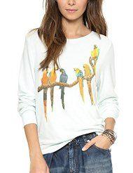 Wildfox Birds in Paradise Baggy Beach Jumper Latest Street Fashion, Wildfox, Fashion Outfits, Fashion Top, Graphic Sweatshirt, Street Style, Sweatshirts, Hoodies, Casual