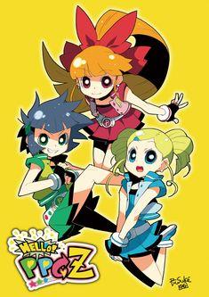 Las Powerpuff Girls Z... sí, la versión japo no podía faltar. Aunque es mala, como la canción de Guaripolo.