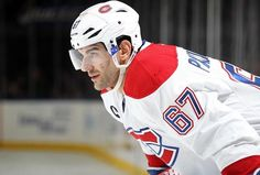 """McDonald's is set to introduce a brand new burger in Quebec named after Montreal Canadiens star Max Pacioretty. The burger, called the """"Max is slated to hit menus this week. Montreal Canadiens, Max Pacioretty, Motorcycle Jacket, Hockey, Baseball Cards, Mars, Sports, Jackets, Law"""