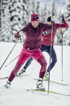 Large selection of Maloja cross country apparel - Thoughts & Ideas & Suggestions Snowboard, Xc Ski, Nordic Skiing, Ski Posters, Ski Wear, Cross Country Skiing, Ski Fashion, Sports Pictures, Country Outfits