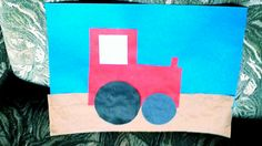 My tractor's wheels are too close together but we had some great pictures at Toddlers today.