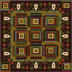 kim diehl free patterns | Kim Diehl - Hearthside Season Winter Quilt