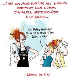 Petit précis de Grumeautique - Blog illustré French Illustration, Funny Illustration, Character Concept, Character Design, Image Fb, Super Mum, Real Moms, Funny Cards, Positive Attitude