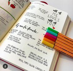 Bullet Journal Gratitude Spread More