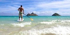 Stand up paddle boarding  New activity for 2012 vacation