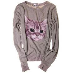 <body> <p><em>Mee-oww</em>! Is there anything more aww-inducing than this exclusive kitten pullover? A super-soft and slouchy sweatshirt for post-holiday dinner <strike>recovering</strike> lounging, pair with leggings for an easy off-duty look that's cozy-chic and 100% cat lady approved.<br /><br /><br /><span style=