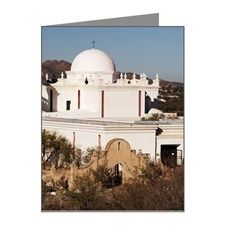 Mission San Xavier Del Bac Note Cards (Pk of 20)