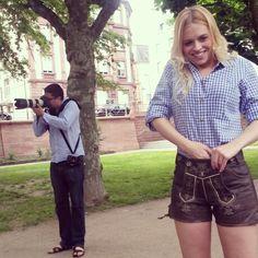 Impressionen vom Lederhosen  trachten shooting #lederhosen #dirndl #oktoberfest #fashion #models #girls #trachtenmode #schöneberger