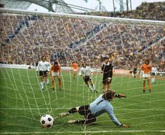 And finally the final: West Germany – Holland. July 7, 1974. The ...