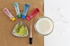 Marbled Milk Paper Materials www.babbledabbledo.com