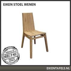Design van de bovenste plank, door zijn gestroomlijnde vormgeving zit deze eiken stoel comfortabel en is hij prachtig om te zien. Deze eiken stoel is momenteel ook verkrijgbaar met kussen. Als u deze eiken stoel combineert met 1 van onze eiken tafels krijgt u een blikvanger in uw interieur. De afwerking kunt u precies aanpassen aan uw tafel. Mocht u af willen wijken van de standaard maat dan kunt u dit vermelden wanneer u een offerte aanvraagt via www.eikentafels.nl.