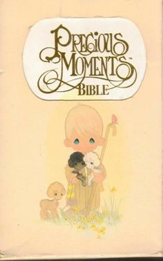Precious Moments Bible New King James Version Child's Edition Slip Case Pictur..